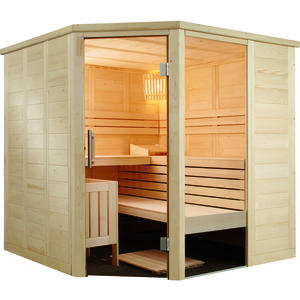 Domo Sauna Alaska Corner Infra+ 206x206x204cm-Aussteller