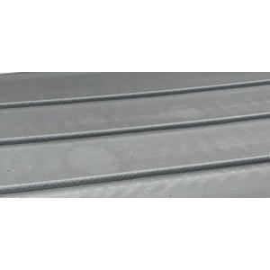 Rollabdeckplane auf Maß Modell light dunkelgrau Fertigungsmaß 6,40 x 3,90m