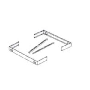 Halterungsset für Ofenreling Concept R