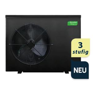 Smart ECO Inverter Wärmepumpe 3- stufig H+C 6,5 kW (inkl. Winterabdeckung und Vibrationsabsorber)