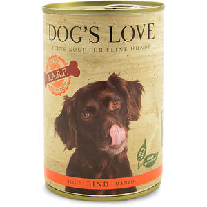 Dog´s Love B.A.R.F Hundefutter, Rind pur