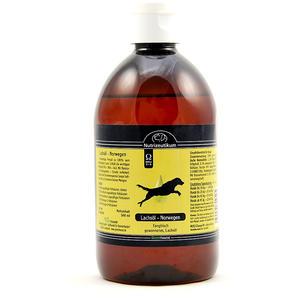 Echtes Lachsöl aus Norwegen 500ml
