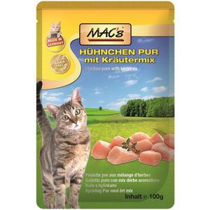 Macs Cat, Katzenfutter Huhn mit Kräuter 100g