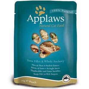 Applaws Cat Pouch - THUNFISCHFILET mit SARDELLEN 70g