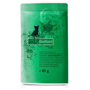 Catz Finefood Nr. 15 - Huhn & Fasan - 85g Pouch