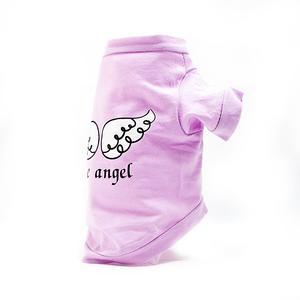 Hundeshirt ANGELWINGS mit Ärmel aus Baumwolle