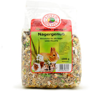 Rosenlöcher Nagergenuss ohne Pellets 1kg