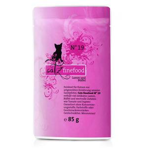 Catz Finefood Nr. 19 - Lamm & Büffel - 85g Pouch