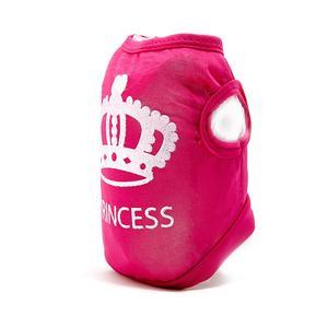 Hundeshirt PRINCESS Farbe: rosa mit Glitzer