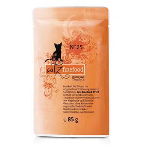 Catz Finefood Nr. 25 - Huhn & Thunfisch - 85g Pouch