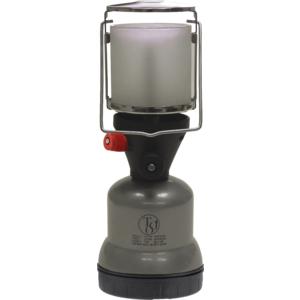TGO Camping-Gaslampe Star Junior Piezo für Stechkartusche 190g, Farbe silber