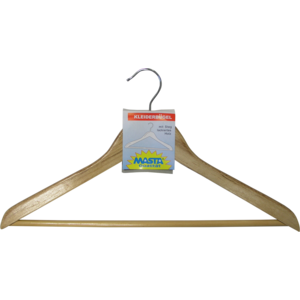 Kleiderbügel Masta 139 Holz mit Steg lackiert 893930