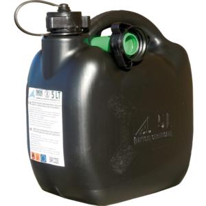 Benzinkanister 20L Kunststoff schwarz UN genehmigt