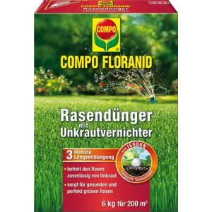Compo Floranid Rasen-Langzeitdünger 6kg/ca. 200m2 13366 32