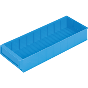 Lagerbox LB500D 500x183x81mm blau