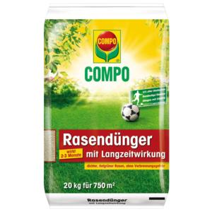 Compo Rasendünger mit Langzeitwirkung 20kg / ca. 800m2 13112 98