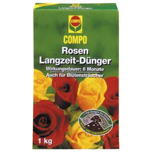 Compo Rosen Langzeit-Dünger 850g 21574 02
