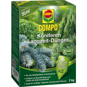 Compo Koniferen Langzeit-Dünger 2kg 21579 02
