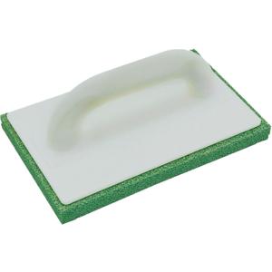 Reibebrett K 56.072.01 240X150 mit Schwammgummibelag grün, mittel