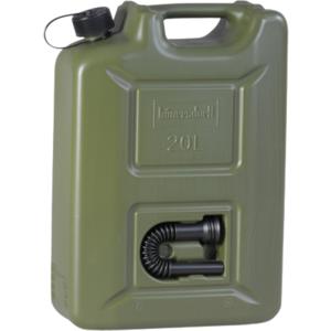 Benzinkanister 20L PROFI Kunststoff Oliv UN genehmigt