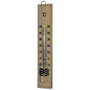 Zimmer Thermometer Holz 20cm