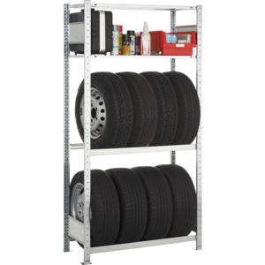 Garagenregal-Set Schulte 2000x1000x400mm Grundregal, verzinkt 20741-4