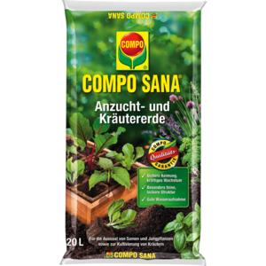 Compo Sana Anzucht- und Kräutererde 20 L 1 0628 98