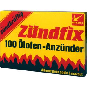 Zündfix Oelofenanzünder L 1 (Pkt.100 Stk.)