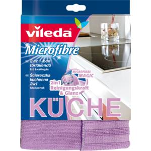 Vileda Microfaser Küchentüch 2in1 32 x 32cm