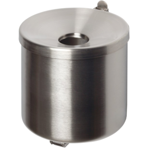 Sicherheits-Wandascher H 100 mm Edelstahl Premium 3010.9258