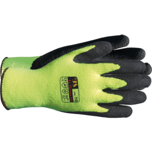 Winterhandschuhe Latex-Beschicht. Gr.9 auf Baumwoll-Stick/Latex THERMO VIZ