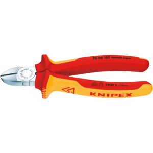 Seitenschneider Knipex 180mm 7006 chrom/isol. VDE