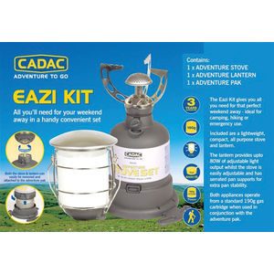 Cadac Campingset EAZI-KIT 902320 Inhalt: Kocher und Lampe
