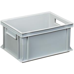 Transportstapelkasten Newbox NB14V1 400x300x170mm grau Durchfassgriffe