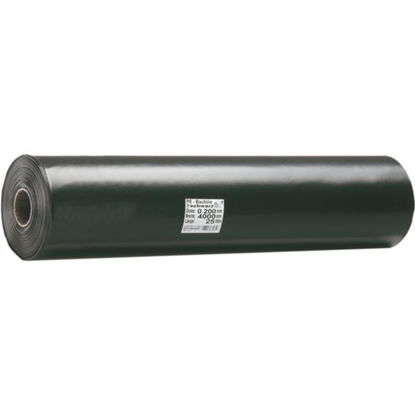 Siloplane 150my 8x41m schwarz o.Untertol 328m2 UV-Stabilisierung 1 Jahr