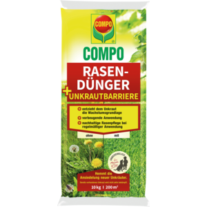 COMPO Rasendünger + Unkrautbarriere 2461488