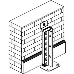 Meta Clip/Fix Wandbefestigungsset verz 2 Stk. für GR, 1 Stk. für AR 72432