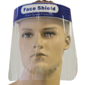 Hygiene Visier 22x32cm mit Gummiband für universelle Kopfgrößen geeignet