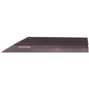 Haarlineal Format 100mm brüniert 47610100