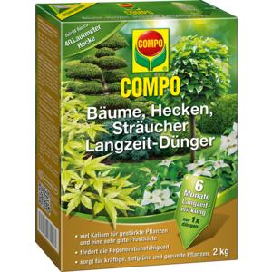 Langzeitdünger COMPO f.Bäume,Hecken und Sträucher Karton zu 2kg