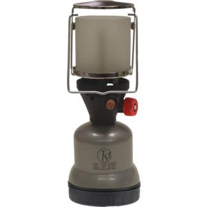 TGO Camping-Gaslampe Star Junior für Stechkartusche 190g, Farbe silber