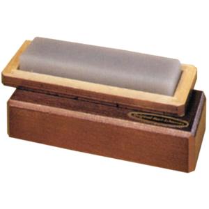 Abziehstein Orig. Arkansas Bankstein im Holzkasten Gr. 125 X 50 mm Ia