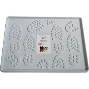 Schuhabtropftasse PVC 49x35 cm granit 120460.39