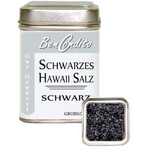 Schwarzes Hawaii Salz 130 gr. Dose (6.23 € pro 100 g)