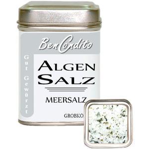 Meersalz mit Wakame Algen in Dose (5.85 € pro 100 g)