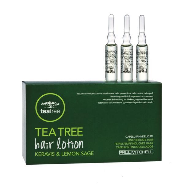 Tea Tree hair lotion Keravis & Lemon Sage 12 Ampullen a 6ml