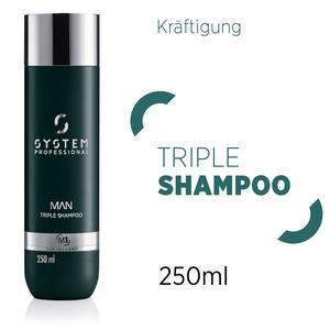 System Professional MAN Triple Shampoo 250 ml