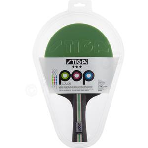 Tischtennis-Schläger Pop Color 3-Stern Grün