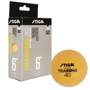 Tischtennis Trainingsball Training 40+ ABS, orange