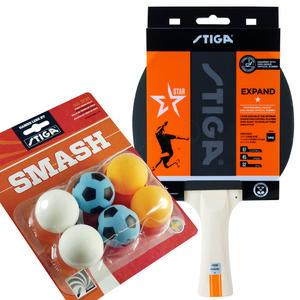 Tischtennisschläger Expand & Smash Fun Bälle